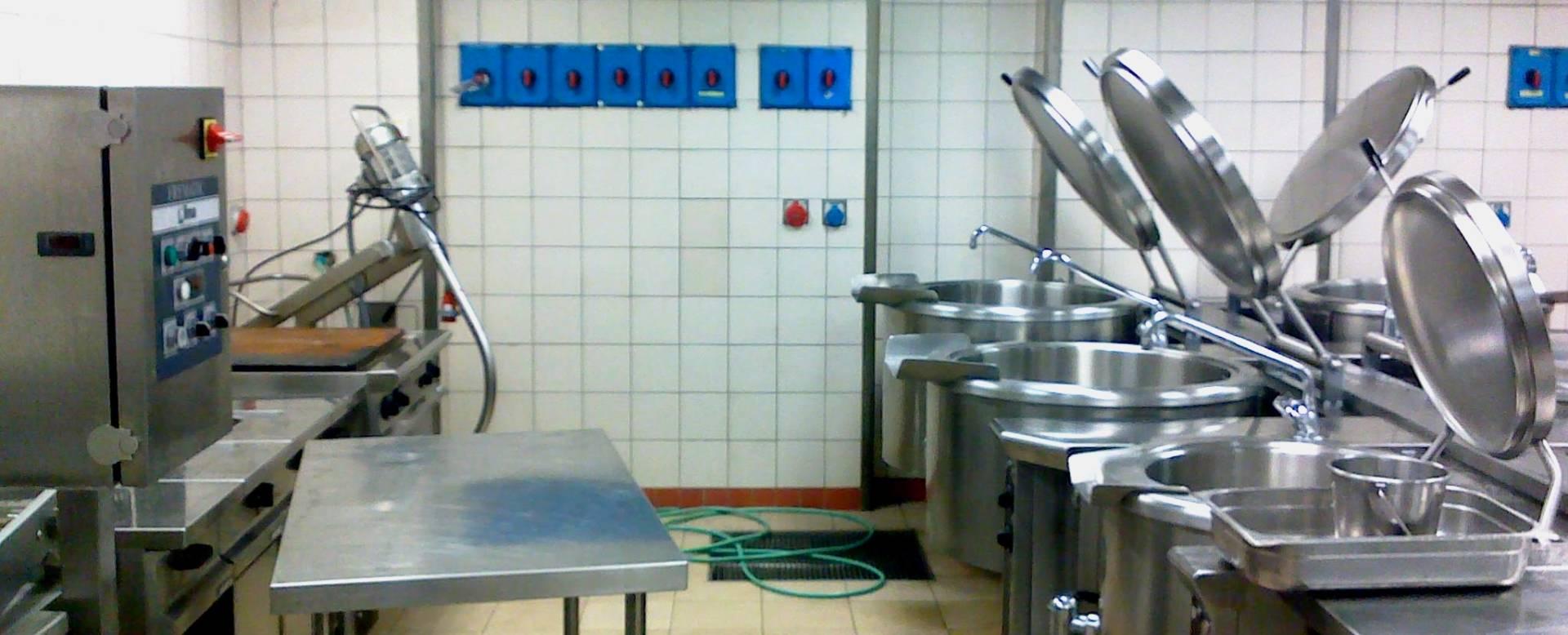 מאוד תכנון מטבחים תעשייתיים (מטבח קייטרינג) - החברה לרישוי עסקים FR-45